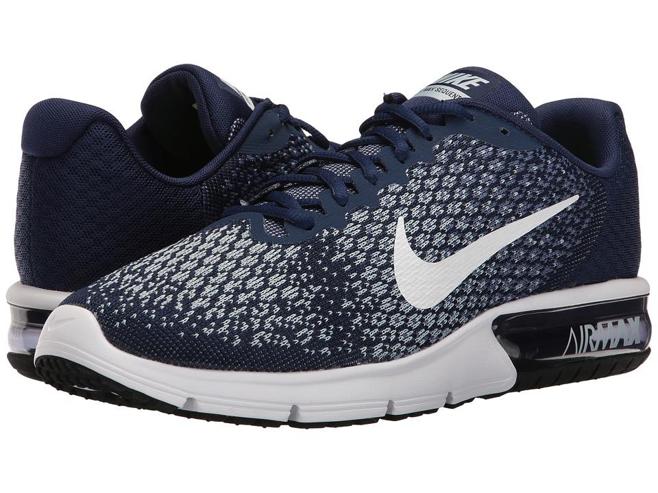 Nike Air Max Sequent 2 (Binary Blue/White/Blue Moon) Men