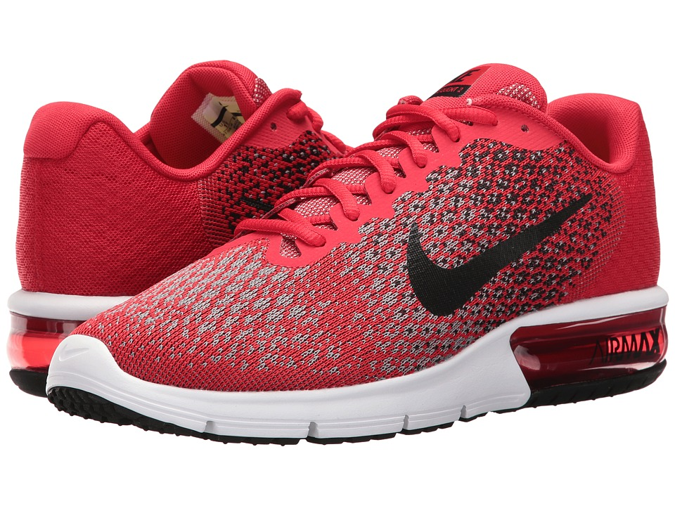 Nike Air Max Sequent 2 (University Red/Black/Black/Cool Grey) Men