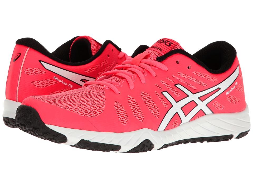 ASICS - Gel-Nitrofuze TR (Diva Pink/White/Black) Womens Cross Training Shoes