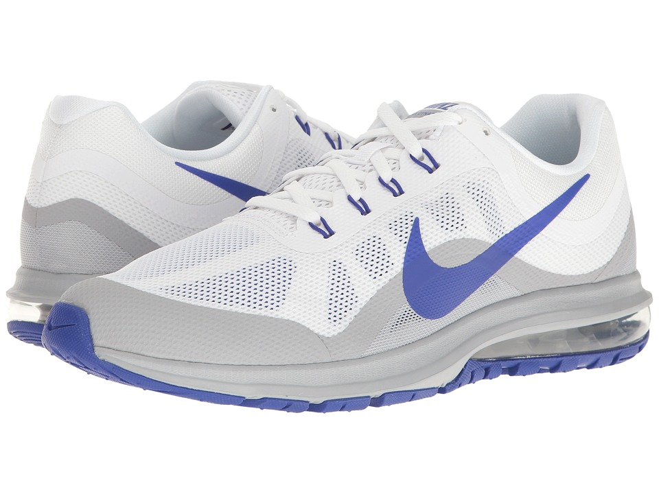 Nike - Air Max Dynasty 2 (White/Paramount Blue/Wolf Grey) Mens Running Shoes