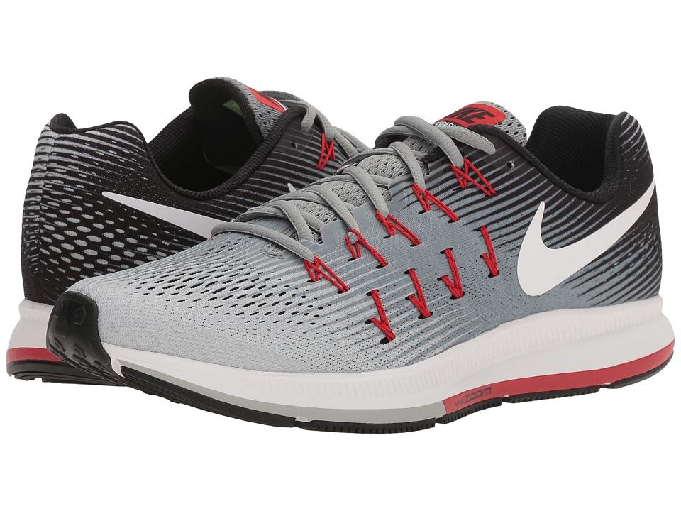 Nike Air Zoom Pegasus 33 (Stealth/White/Pure Platinum/Black/Orange) Men