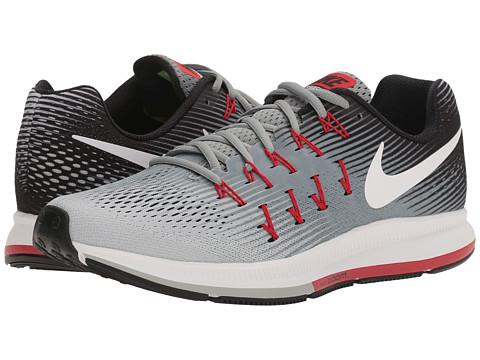 Nike Air Zoom Pegasus 33 - Stealth/White/Pure Platinum/Black/Orange