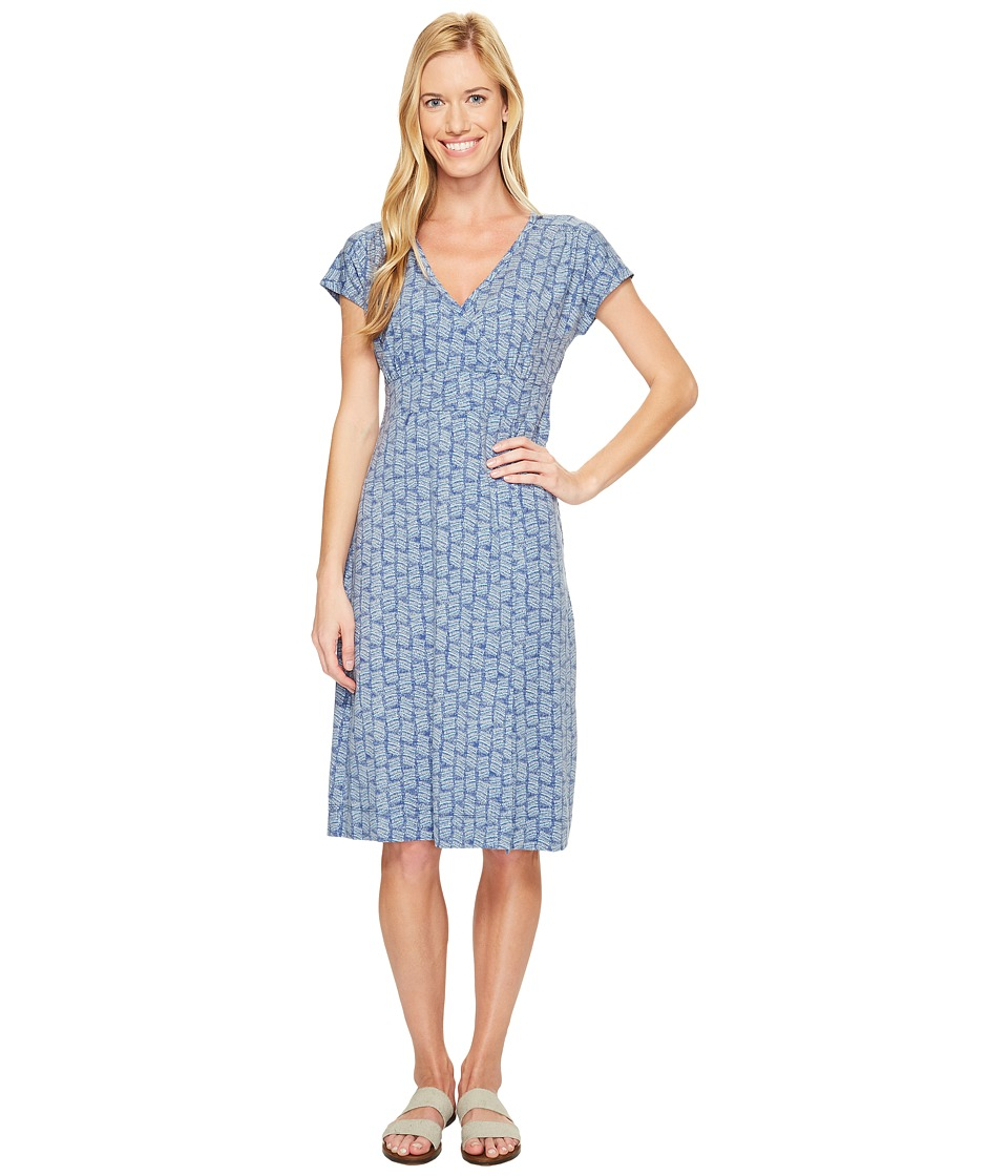 Royal Robbins Essential Tencel Dash Dress (Blue Sea) Women