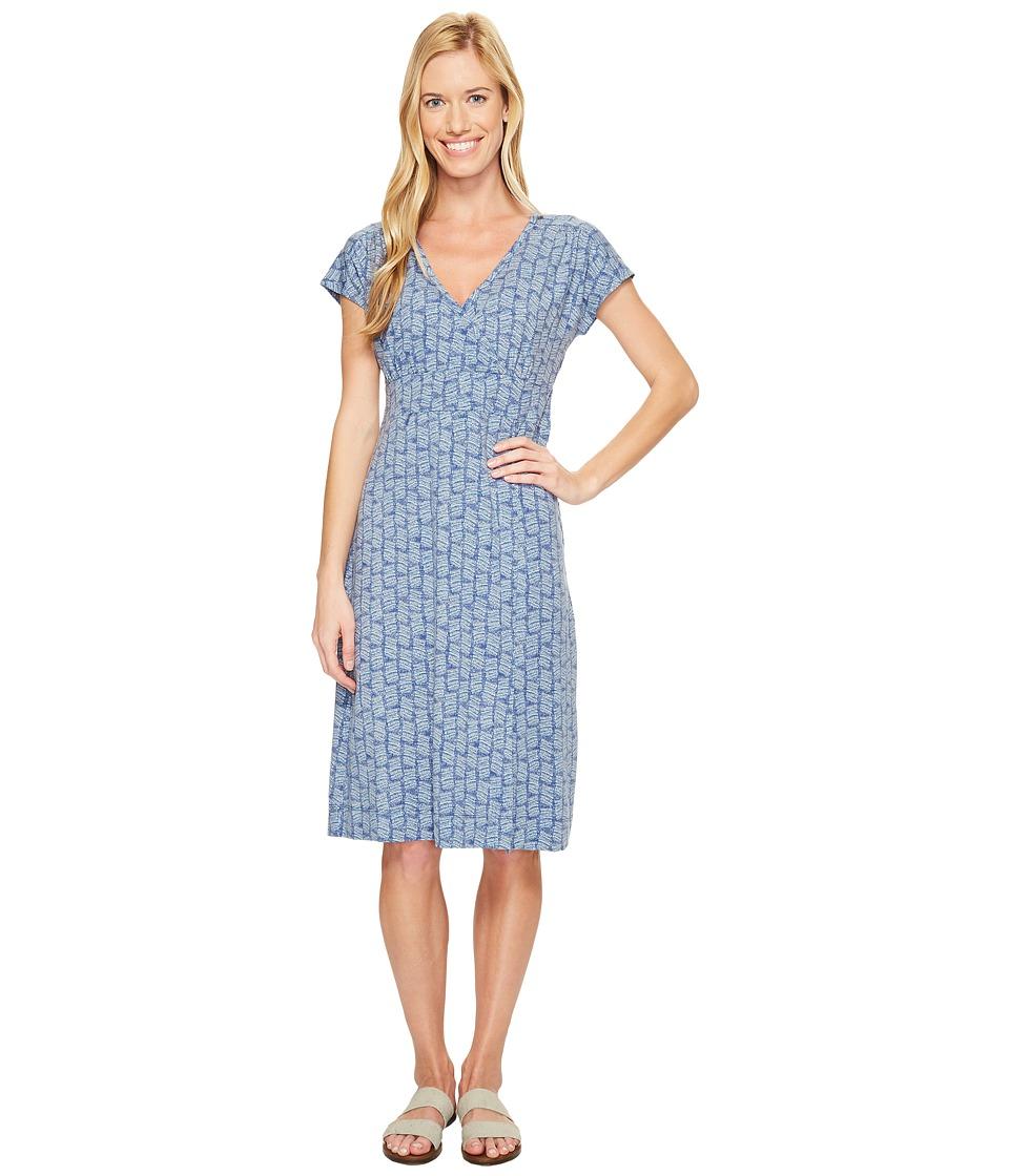 Royal Robbins Essential Tencel(r) Dash Dress (Blue Sea) Women