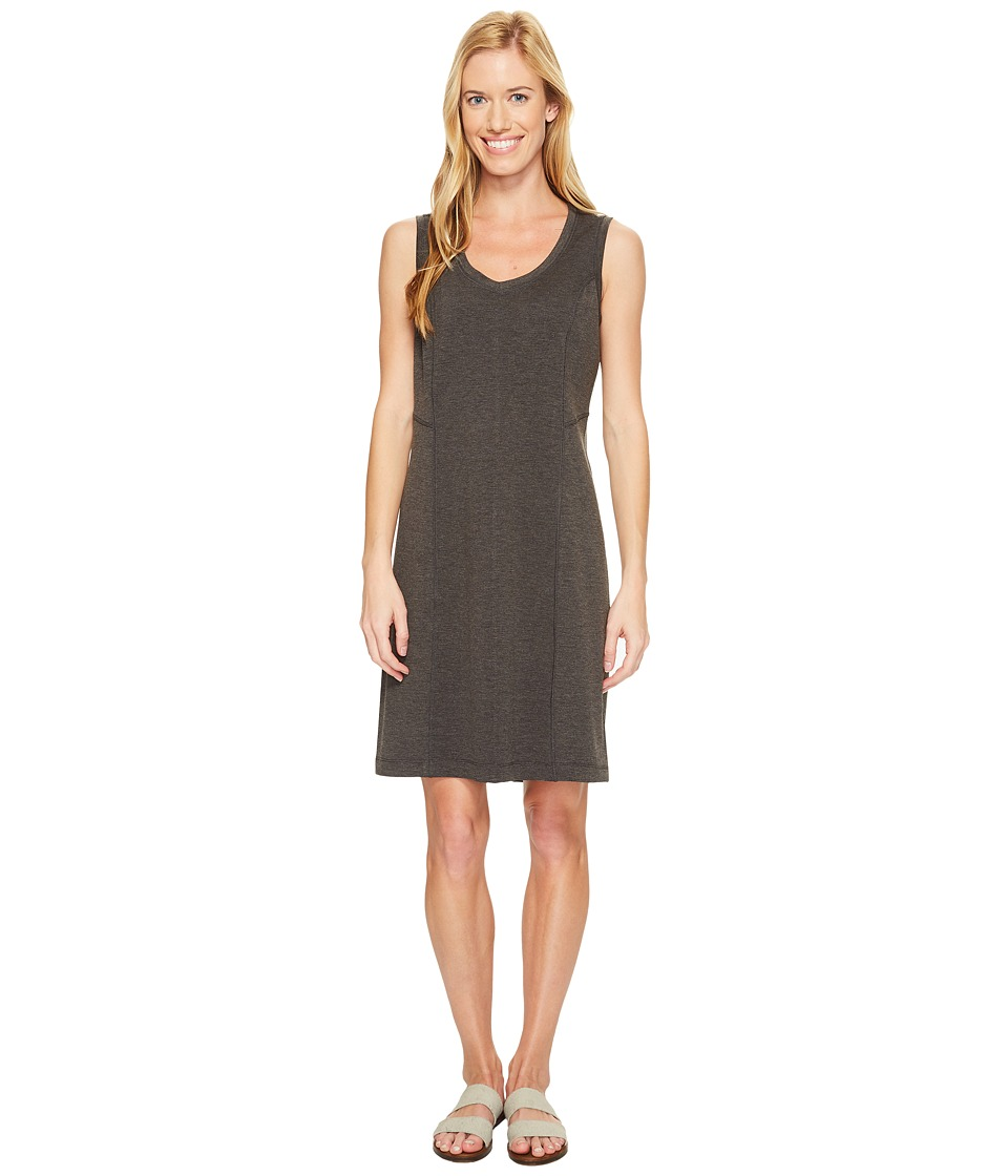 Royal Robbins Metro Melange Shift Dress (Charcoal) Women