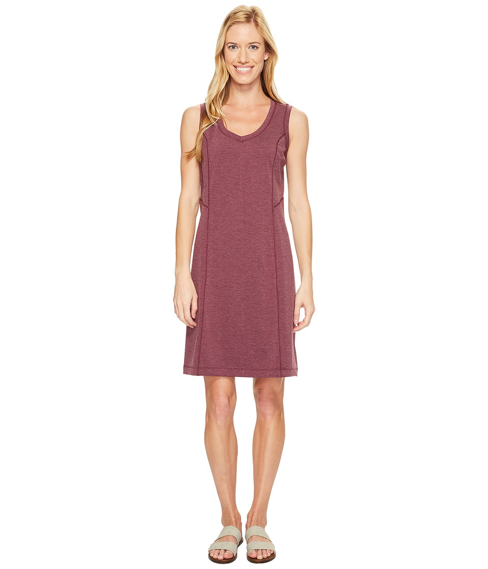 Royal Robbins Metro Melange Shift Dress (Plum Wine) Women