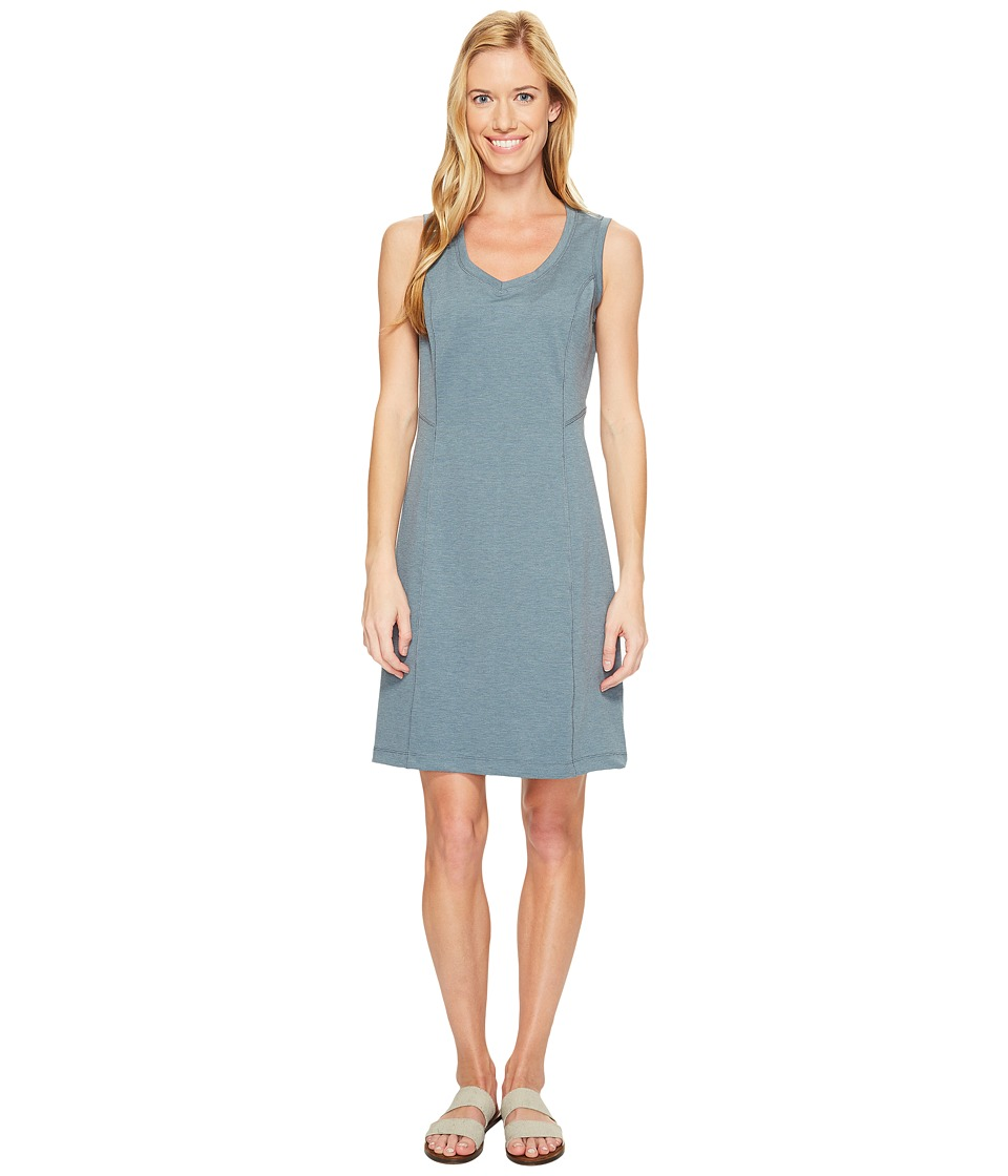 Royal Robbins Metro Melange Shift Dress (Slate) Women