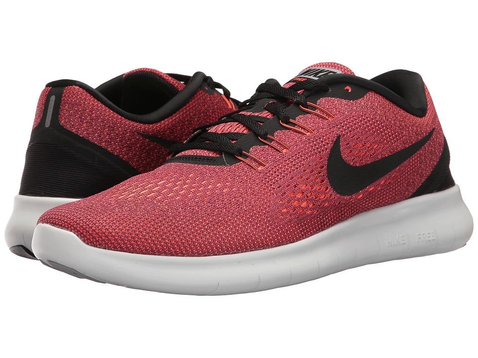 Nike Free RN (Hyper Orange/Black/Ocean Fog/Wolf Grey) Men