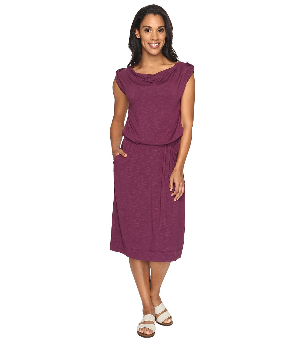 Royal Robbins Noe Dress (Plum Wine) Women