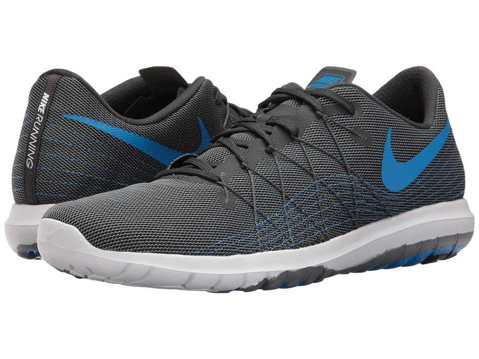 Nike - Flex Fury 2 (Anthracite/Photo Blue/Cool Grey/White) Mens Running Shoes