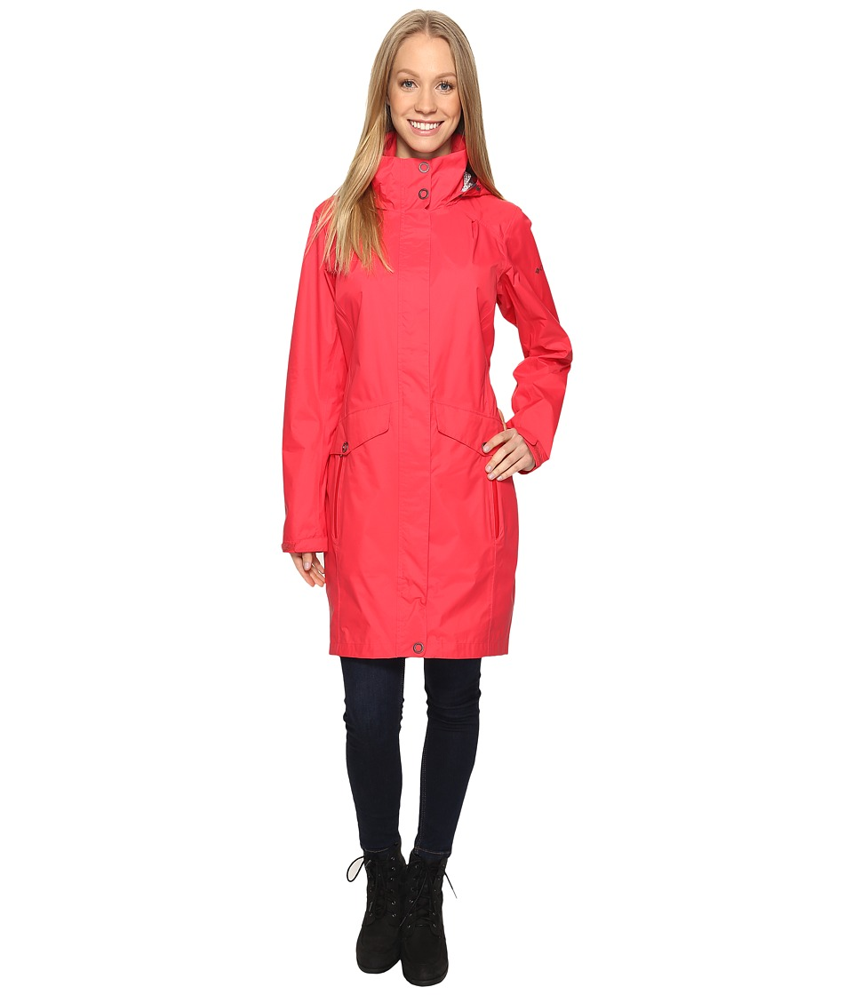 Columbia EvaPOURation Trench (Red Camellia) Women