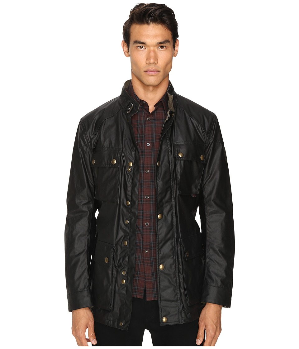 39c58ba3f5f EAN 7613301277793 product image for BELSTAFF - Roadmaster Signature 6oz.  Waxed Cotton Jacket (Black ...