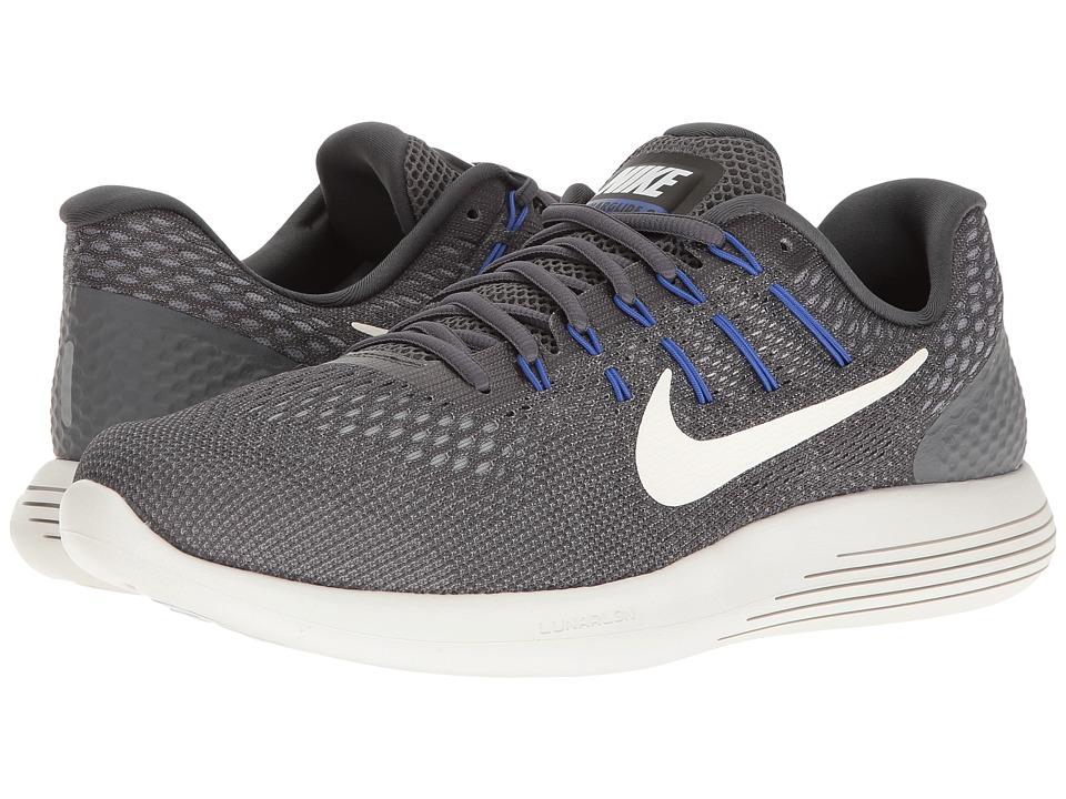 Nike Lunarglide 8 (Dark Grey/Summit White/Wolf Grey) Men