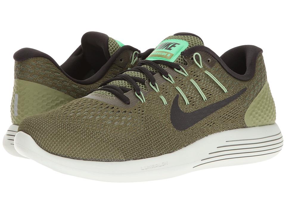 Nike Lunarglide 8 (Palm Green/Black/Legion Green) Men