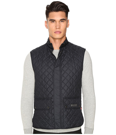 BELSTAFF Waistcoat Lightweight Technical Quilts Vest Liner - Dark Navy