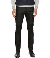 BELSTAFF - Blackrod Regular Fit Raw Stretch Motor Denim in Black