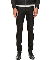 BELSTAFF - Elmbridge Slim Fit Resin Coated Stretch Motor Denim in Black