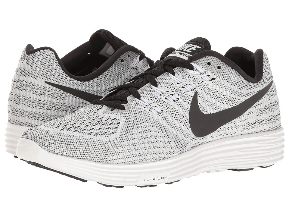 Nike - Lunartempo 2 (White/Black) Mens Running Shoes