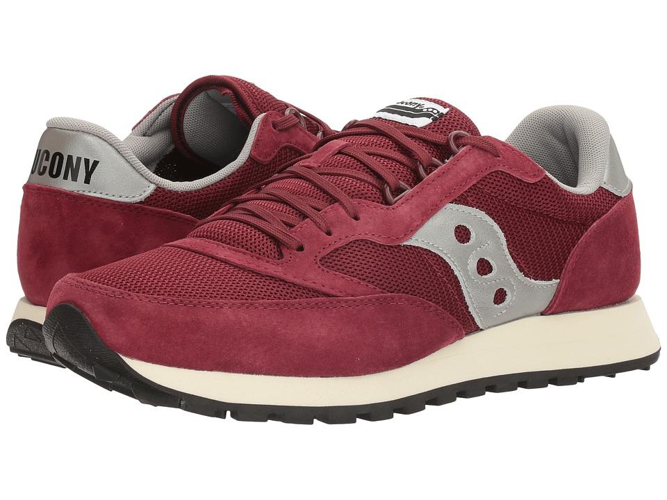 Saucony Originals - Freedom Trainer (Crimson/Grey) Mens Classic Shoes
