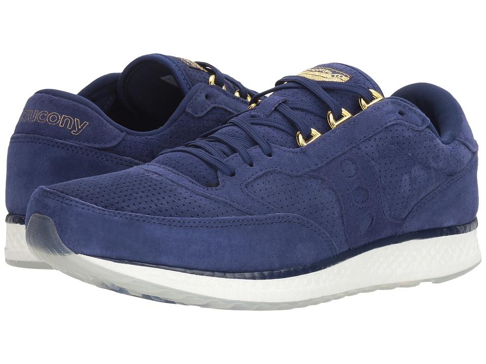 Saucony Originals Freedom Runner (Blue/Gold) Men