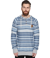 VISSLA - Lei Day Reversed French Terry Pullover Henley Fleece