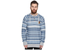 Lei Day Reversed French Terry Pullover Henley Fleece