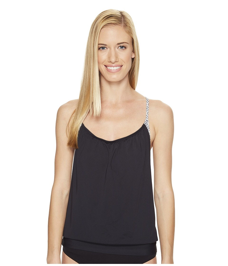 Carve Designs Sophia Tankini (Black Sierra) Women