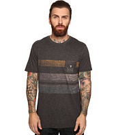 VISSLA - Kooktown Reverse Printed Short Sleeve Pocket Crew Knit