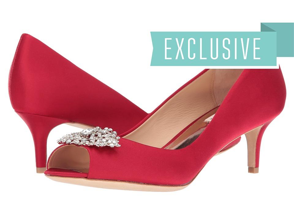 Badgley Mischka Layla (Red) High Heels