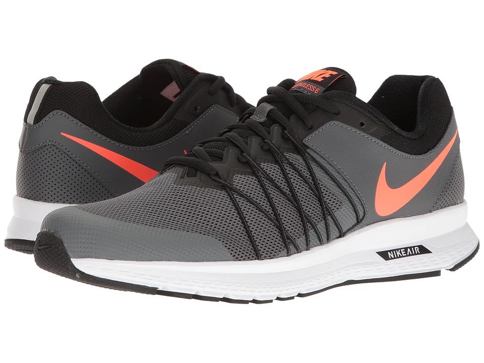 Nike Air Relentless 6 (Dark Grey/Hyper Orange/Black/White...