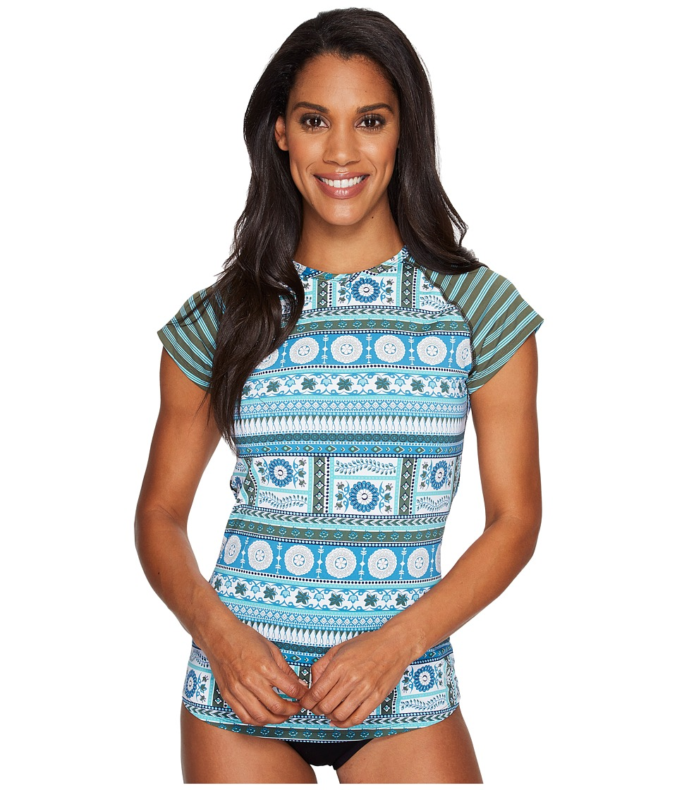 Carve Designs Belles Beach Rashguard (Reed Parisio) Women