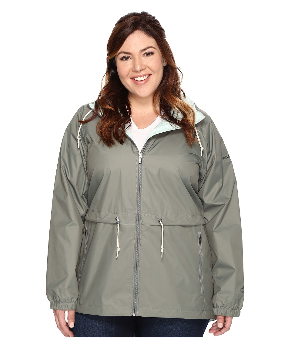 Columbia Plus Size Arcadia Casual Jacket (Sedona Sage) Women