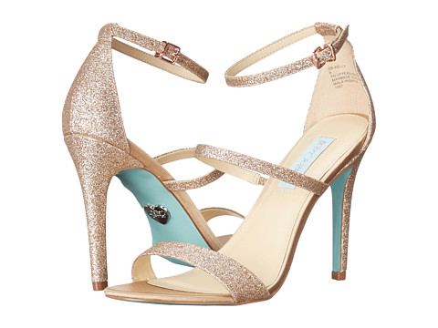 Blue by Betsey Johnson Kelly - Champagne Glitter
