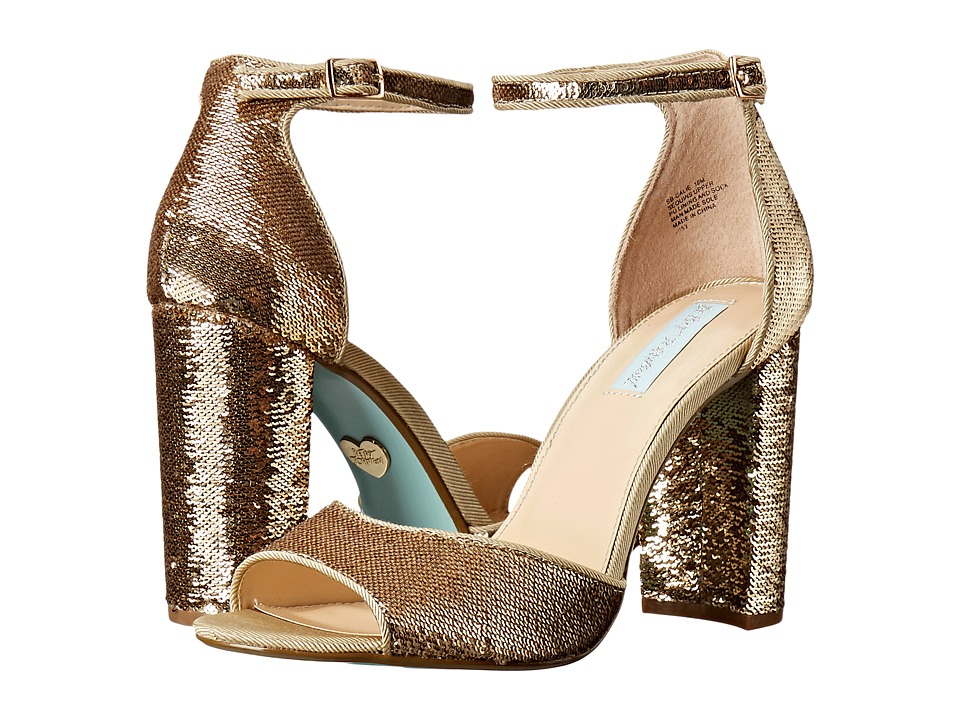 Blue by Betsey Johnson - Calie (Gold) Women