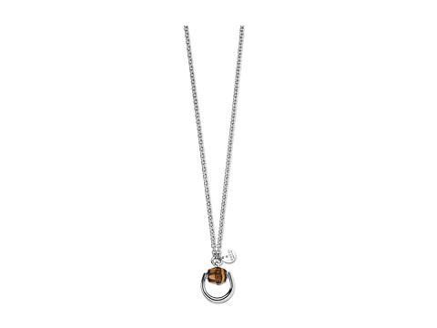 Gucci 55cm Bamboo Necklace - Silver