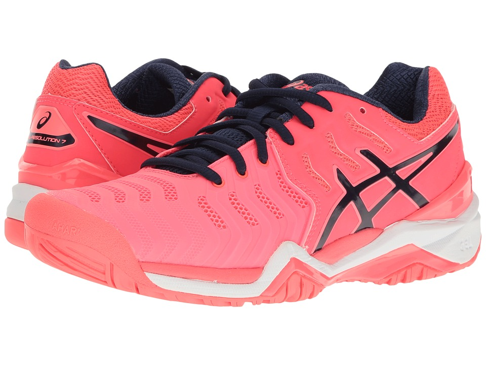 Asics Gel-Resolution 7 (Diva Pink/Indigo Blue/White) Wome...