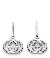 Gucci - Silver Britt Earrings