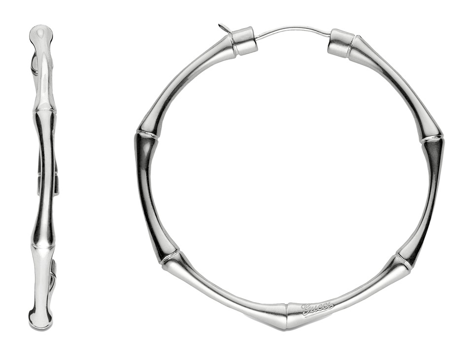 Gucci Bamboo Earrings (Silver) Earring