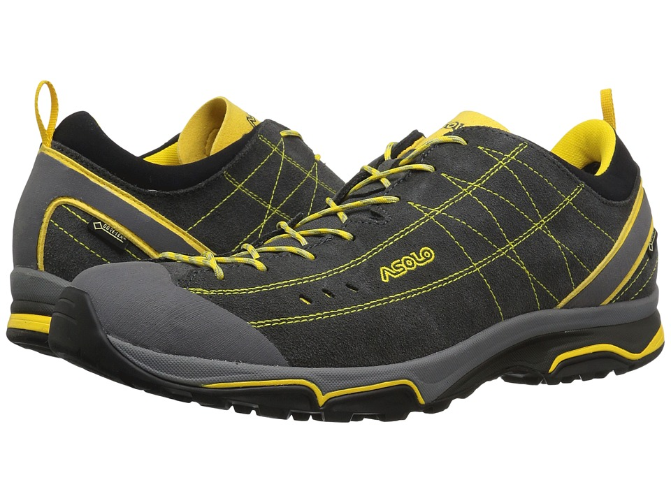Asolo - Nucleon GV (Grafite/Giallo) Men's Shoes