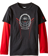 Under Armour Kids - Iron Helmet Slider (Little Kids/Big Kids)