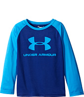 Under Armour Kids - Core Branded Long Sleeve Raglan (Little Kids/Big Kids)
