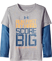 Under Armour Kids - Run Fast Game Day Slider (Little Kids/Big Kids)
