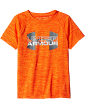 Under Armour Kids - Big Logo Hybrid Twist Short Sleeve (Little Kids/Big Kids)