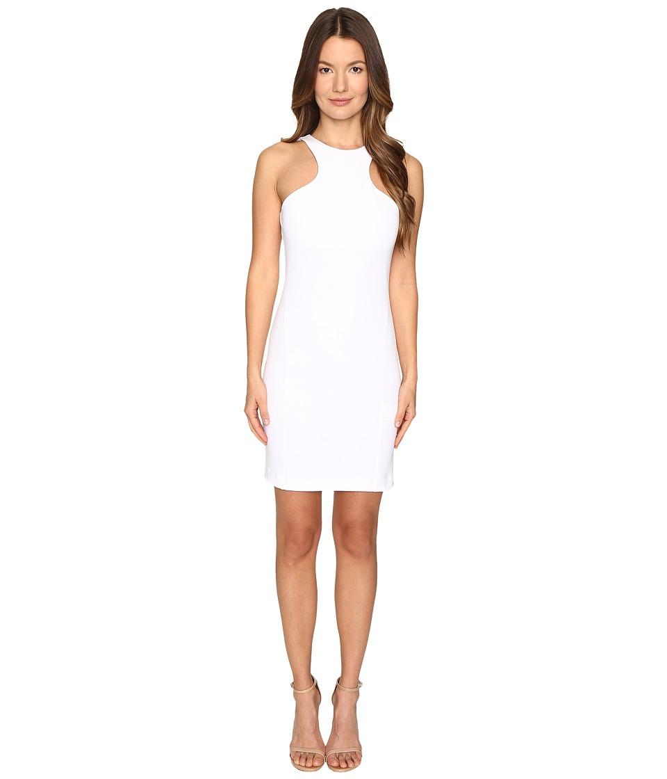 DSQUARED2 Compact Cotton Jersey Tank Dress (White) Women