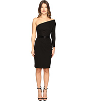 DSQUARED2 - Viscose One Shoulder Long Sleeve Crepe Dress