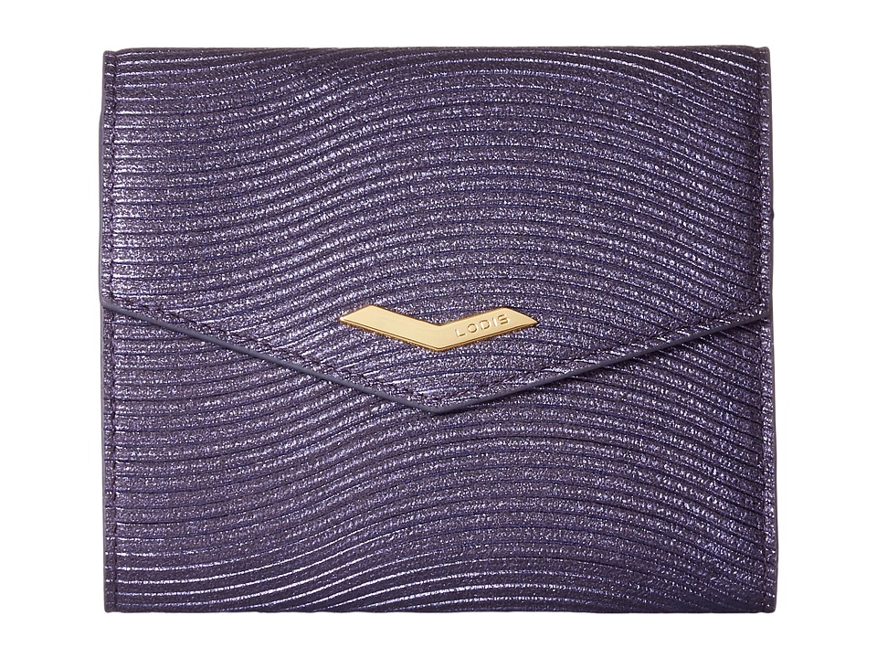 1930s Handbags and Purses Fashion Lodis Accessories - Vanessa Variety Lana French Purse Purple Wallet Handbags $57.99 AT vintagedancer.com
