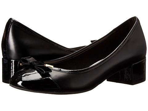 Cole Haan Kelsey Waterproof Block Heel Pump - Black Patent