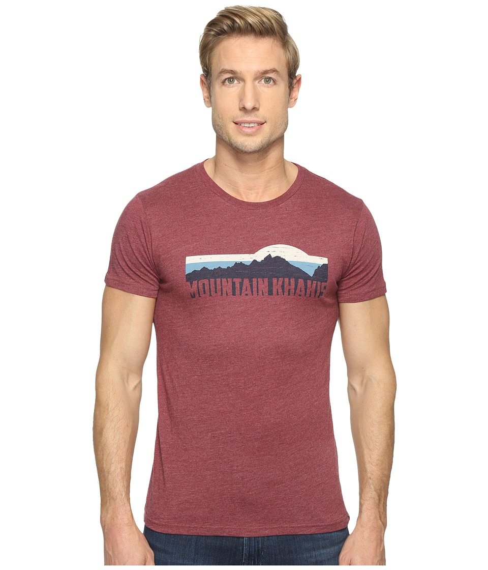 Mountain Khakis - Territory T-Shirt (Red Heather) Mens T Shirt