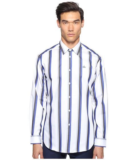 Vivienne Westwood Bold Stripe Cutaway Shirt