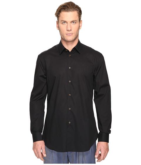 Vivienne Westwood Classic Poplin Cutaway Shirt - Black